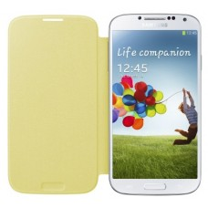 Samsung Galaxy S4 flip cover geel