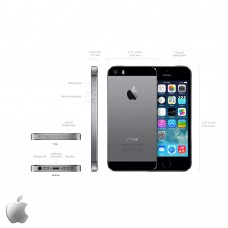 Apple iPhone 5S 64GB Spacegrey / Zwart