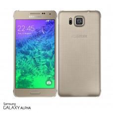 Samsung Galaxy Alpha Goud