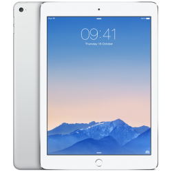 Apple iPad Air 2 WiFi + Cellular 16GB Silver / Wit