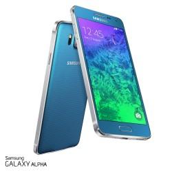 Samsung Galaxy Alpha Blauw